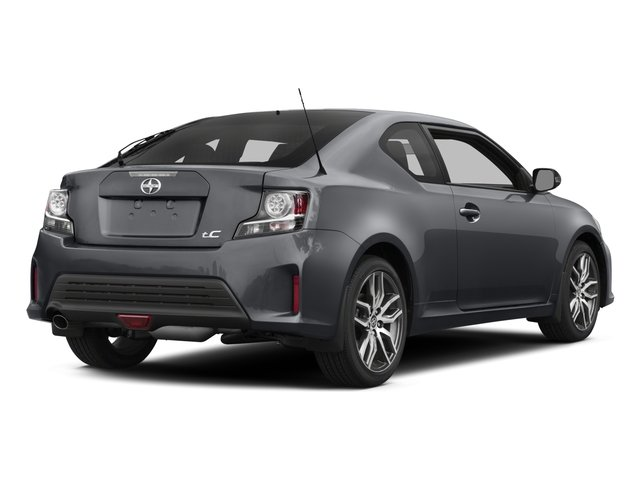 2015 Scion tC Prices and Values Liftback 3D I4 side rear view