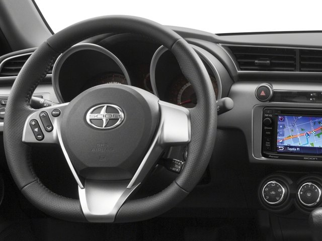 2015 Scion tC Prices and Values Liftback 3D I4 driver's dashboard