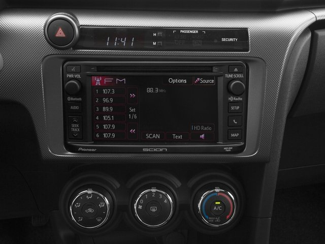 2015 Scion tC Prices and Values Liftback 3D I4 stereo system