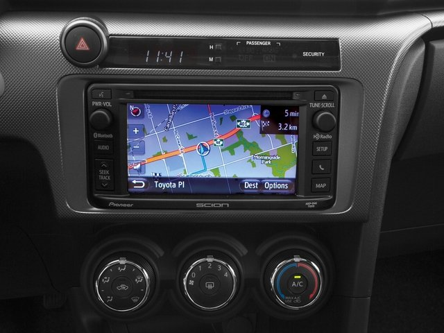 2015 Scion tC Prices and Values Liftback 3D I4 navigation system