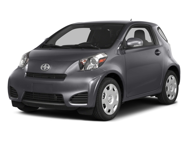 2015 Scion iQ Pictures iQ Hatchback 3D I4 photos side front view