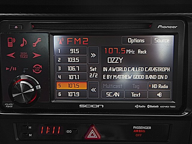 2015 Scion FR-S Prices and Values Coupe 2D H4 stereo system