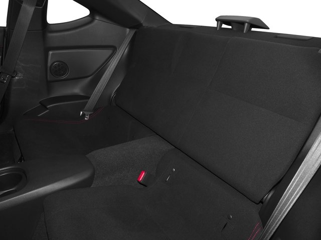 2015 Scion FR-S Prices and Values Coupe 2D H4 backseat interior