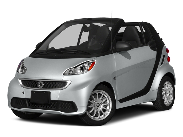 2015 smart fortwo Pictures fortwo Convertible 2D Passion I3 photos side front view