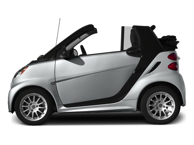 2015 smart fortwo Pictures fortwo Convertible 2D Passion I3 photos side view