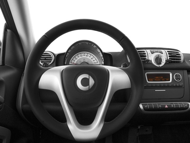 2015 smart fortwo Pictures fortwo Convertible 2D Passion I3 photos driver's dashboard