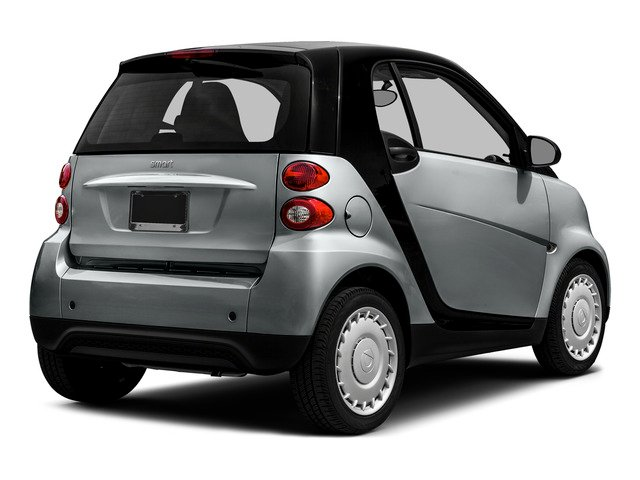 2015 smart fortwo Pictures fortwo Coupe 2D Passion I3 photos side rear view