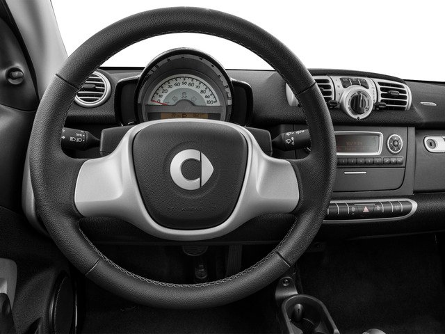 2015 smart fortwo Prices and Values Coupe 2D Passion I3 driver's dashboard