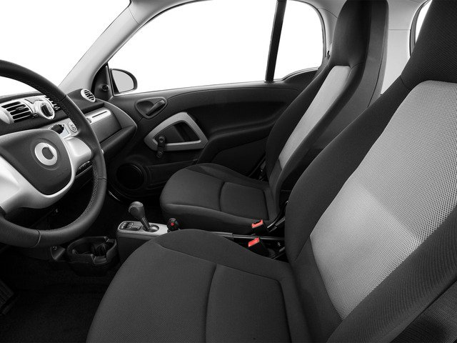 2015 smart fortwo Pictures fortwo Coupe 2D Passion I3 photos front seat interior