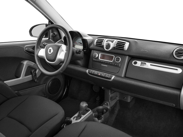 2015 smart fortwo Pictures fortwo Coupe 2D Passion I3 photos passenger's dashboard