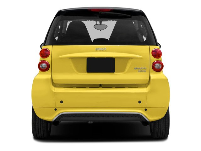 2015 smart fortwo electric drive Pictures fortwo electric drive Coupe 2D Electric photos rear view