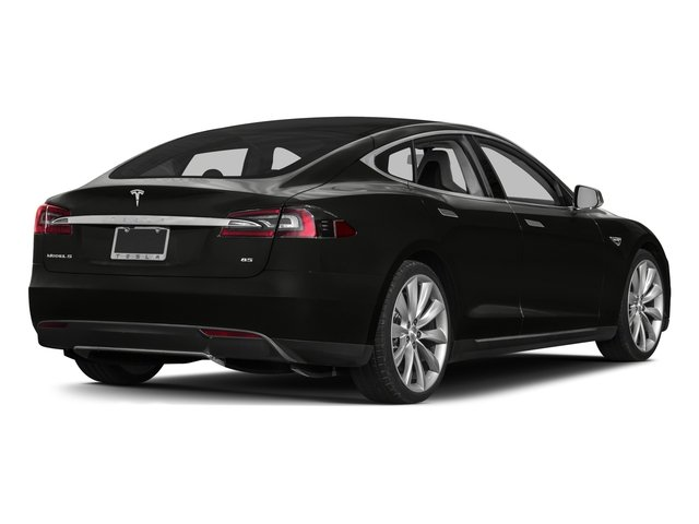 2015 Tesla Motors Model S Prices and Values Sedan 4D D AWD Electric side rear view