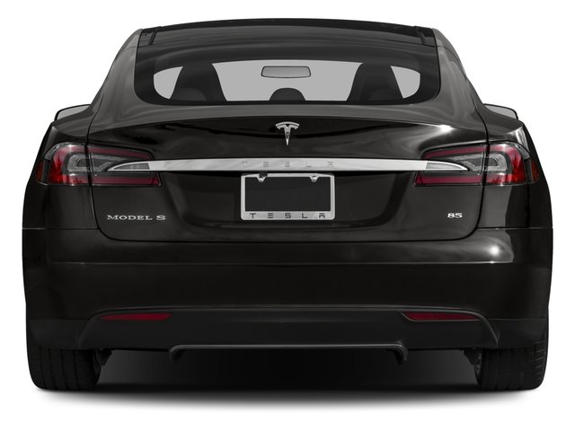 2015 Tesla Motors Model S Prices and Values Sedan 4D D AWD Electric rear view