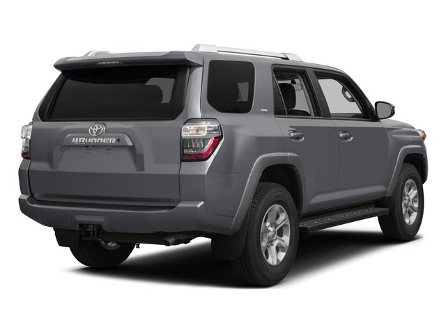 2015 Toyota 4Runner Prices and Values Utility 4D SR5 4WD V6 side rear view