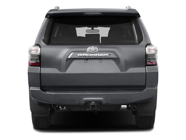 2015 Toyota 4Runner Prices and Values Utility 4D SR5 4WD V6 rear view
