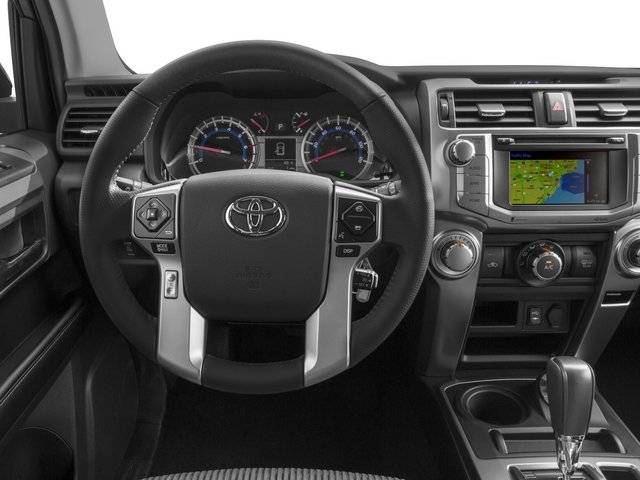 2015 Toyota 4Runner Prices and Values Utility 4D SR5 4WD V6 driver's dashboard