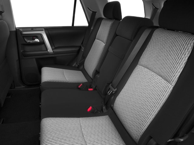 2015 Toyota 4Runner Prices and Values Utility 4D SR5 4WD V6 backseat interior