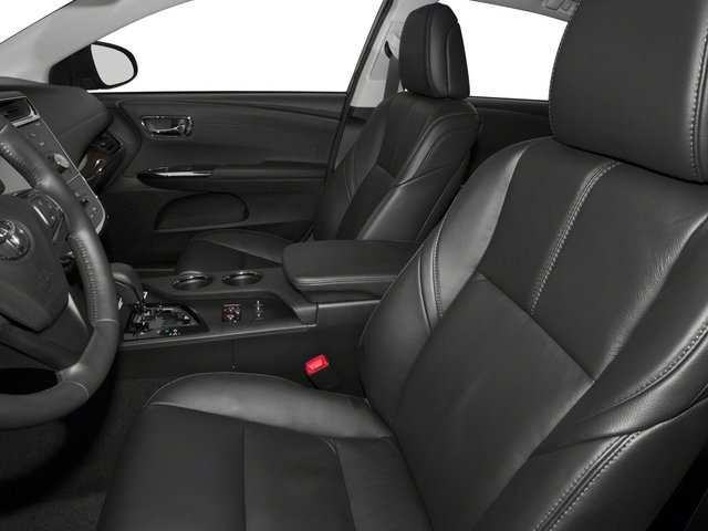2015 Toyota Avalon Prices and Values Sedan 4D Limited V6 front seat interior