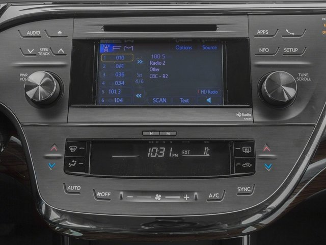 2015 Toyota Avalon Prices and Values Sedan 4D Limited V6 stereo system
