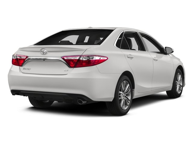2015 Toyota Camry Prices and Values Sedan 4D SE I4 side rear view