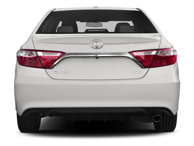 2015 Toyota Camry Prices and Values Sedan 4D SE I4 rear view