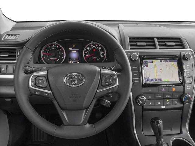2015 Toyota Camry Prices and Values Sedan 4D SE I4 driver's dashboard