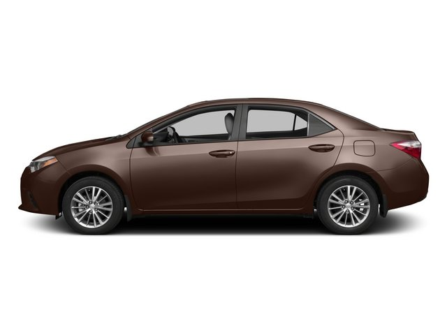 2015 Toyota Corolla Prices and Values Sedan 4D LE Eco I4 side view