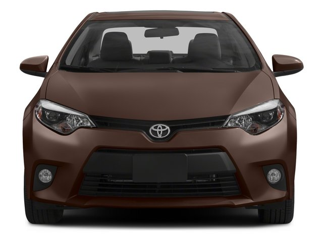 2015 Toyota Corolla Prices and Values Sedan 4D LE Eco I4 front view