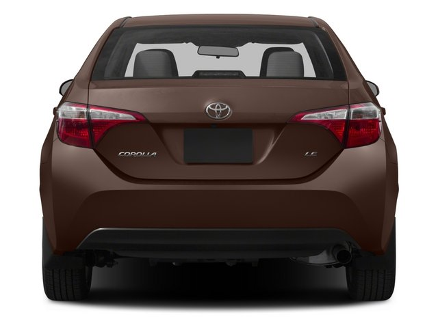 2015 Toyota Corolla Prices and Values Sedan 4D LE Eco I4 rear view