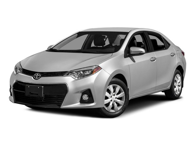 2015 Toyota Corolla Prices and Values Sedan 4D L I4 side front view