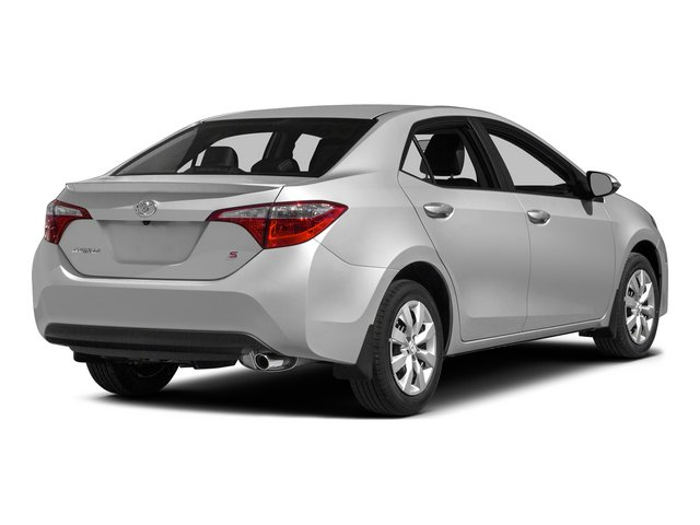 2015 Toyota Corolla Prices and Values Sedan 4D L I4 side rear view