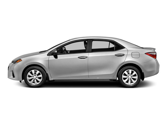 2015 Toyota Corolla Prices and Values Sedan 4D L I4 side view
