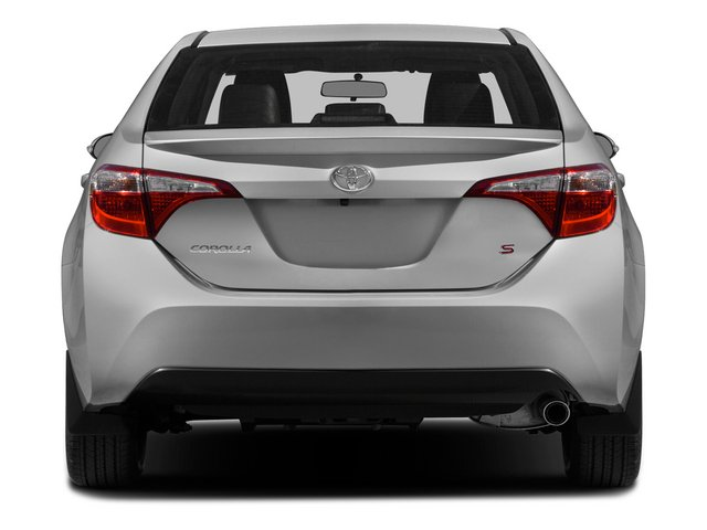 2015 Toyota Corolla Prices and Values Sedan 4D L I4 rear view