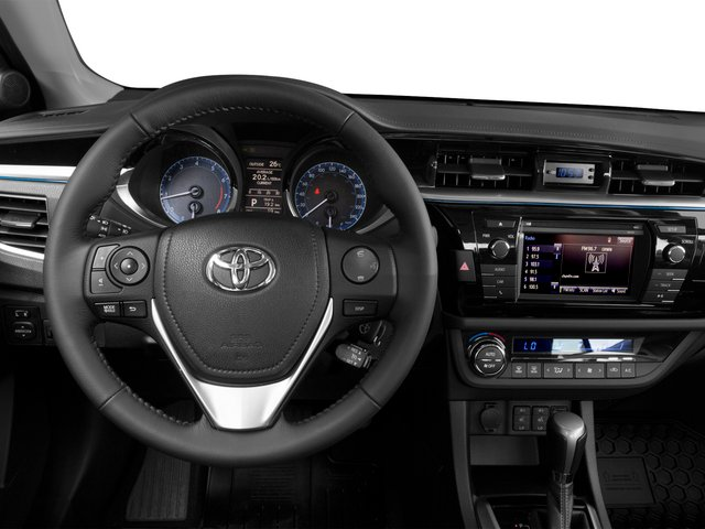 2015 Toyota Corolla Prices and Values Sedan 4D L I4 driver's dashboard