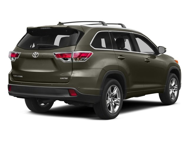 2015 Toyota Highlander Prices and Values Utility 4D LE Plus 4WD V6 side rear view