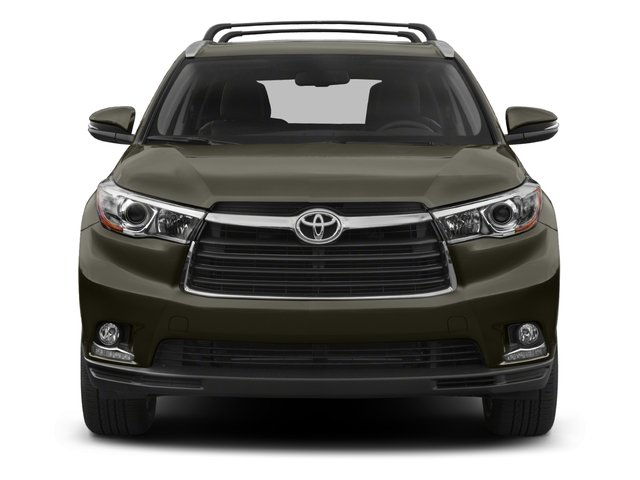 2015 Toyota Highlander Pictures Highlander Utility 4D LE 2WD I4 photos front view