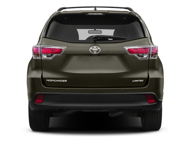 2015 Toyota Highlander Prices and Values Utility 4D LE Plus 4WD V6 rear view