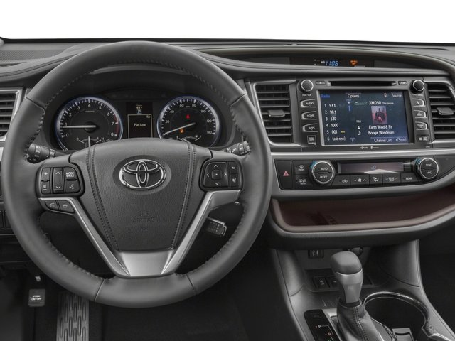 2015 Toyota Highlander Prices and Values Utility 4D LE Plus 4WD V6 driver's dashboard