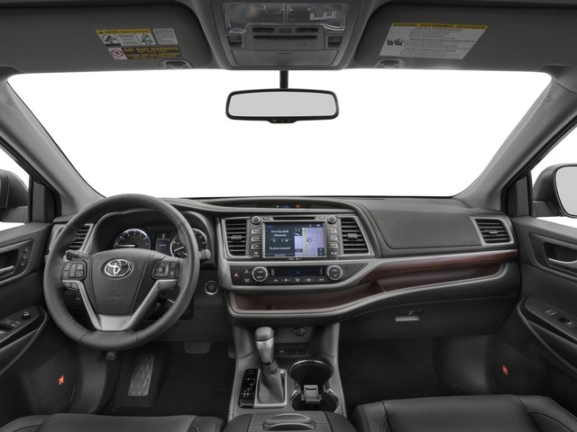 2015 Toyota Highlander Pictures Highlander Utility 4D LE 2WD I4 photos full dashboard