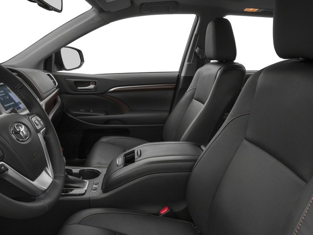 2015 Toyota Highlander Prices and Values Utility 4D LE Plus 4WD V6 front seat interior