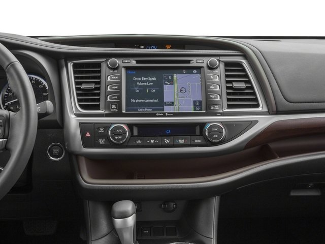 2015 Toyota Highlander Prices and Values Utility 4D LE Plus 4WD V6 stereo system
