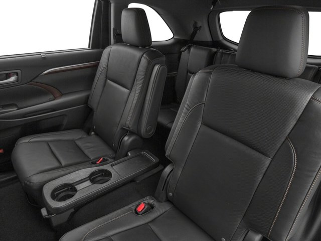 2015 Toyota Highlander Prices and Values Utility 4D LE Plus 4WD V6 backseat interior