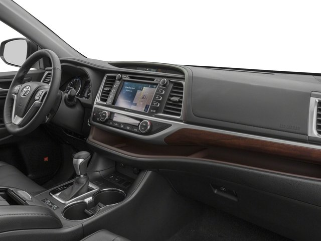 2015 Toyota Highlander Pictures Highlander Utility 4D LE 2WD I4 photos passenger's dashboard
