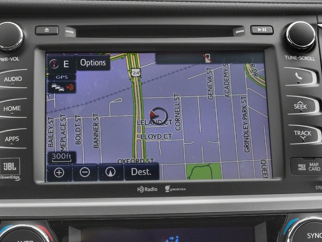 2015 Toyota Highlander Pictures Highlander Utility 4D LE 2WD I4 photos navigation system