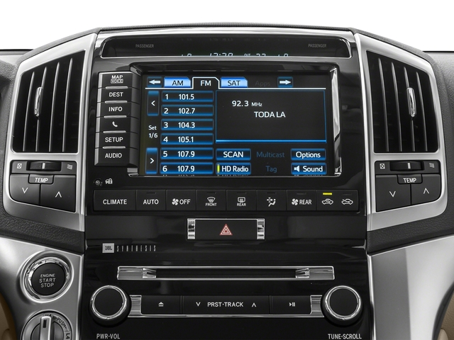 2015 Toyota Land Cruiser Pictures Land Cruiser Utility 4D 4WD V8 photos stereo system