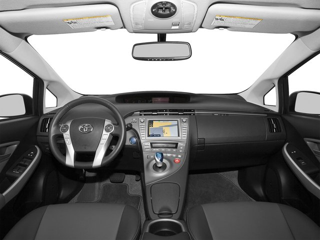 2015 Toyota Prius Pictures Prius Liftback 5D Five I4 Hybrid photos full dashboard