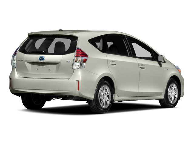 2015 Toyota Prius v Prices and Values Liftback 5D v Five I4 Hybrid side rear view