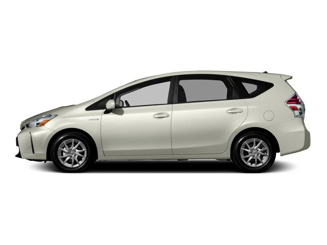 2015 Toyota Prius v Prices and Values Liftback 5D v Five I4 Hybrid side view