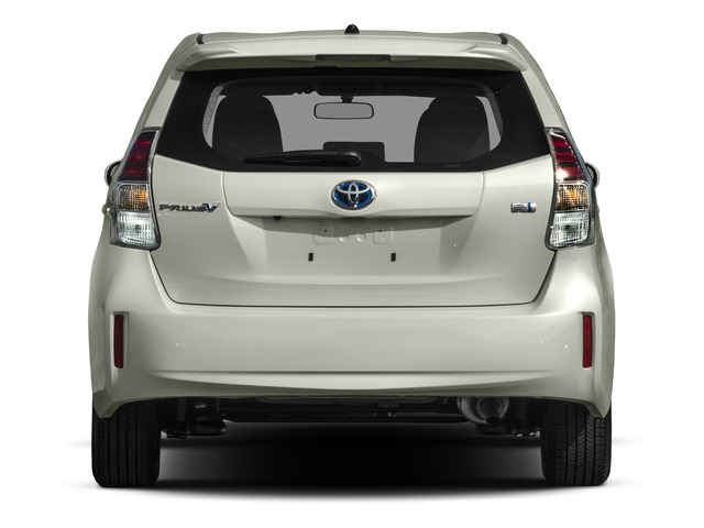2015 Toyota Prius v Prices and Values Liftback 5D v Five I4 Hybrid rear view