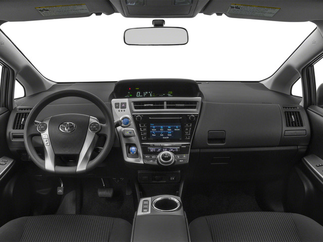 2015 Toyota Prius v Prices and Values Liftback 5D v Five I4 Hybrid full dashboard